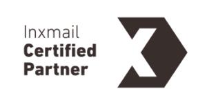 Abbildung des Inxmail Certified Partnerlogos