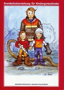 Cover des Malbuchs zur Brandschutzerziehung
