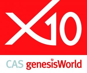 Logo von CAS genesisWorld x10