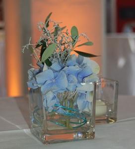 Blumengesteck beim Customer Networking Day