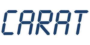 Hier sehen Sie das Logo von CARAT