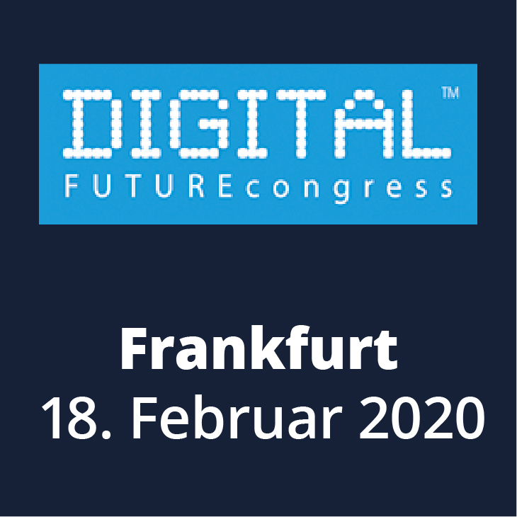Messehinweis Digital Future Congress 2020 in Frankfurt