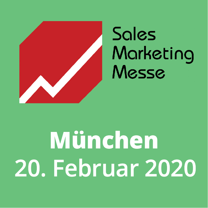 Messehinweis Sales Marketing Messe München