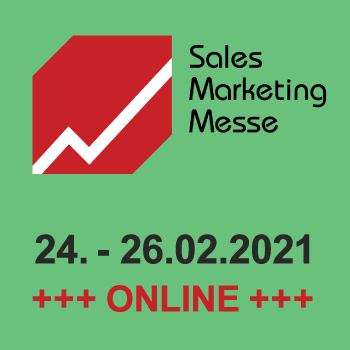 Messehinweis Sales Marketing Messe Online 2021