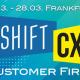 Logo der Shift/CX 2019 mit Veranstaltungsdatum