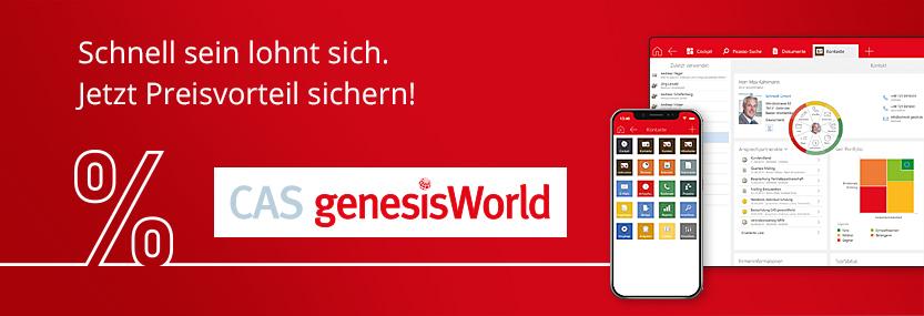 Banner zur Vorteilsaktion der CAS Software AG - Jetzt Preisvorteil sichern!
