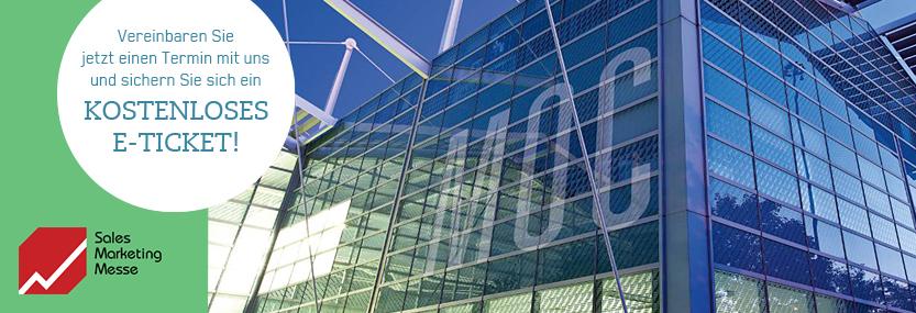 Beitragsbild Sales Marketing Messe 2020 - Aussenansicht des MOC-Gebäude