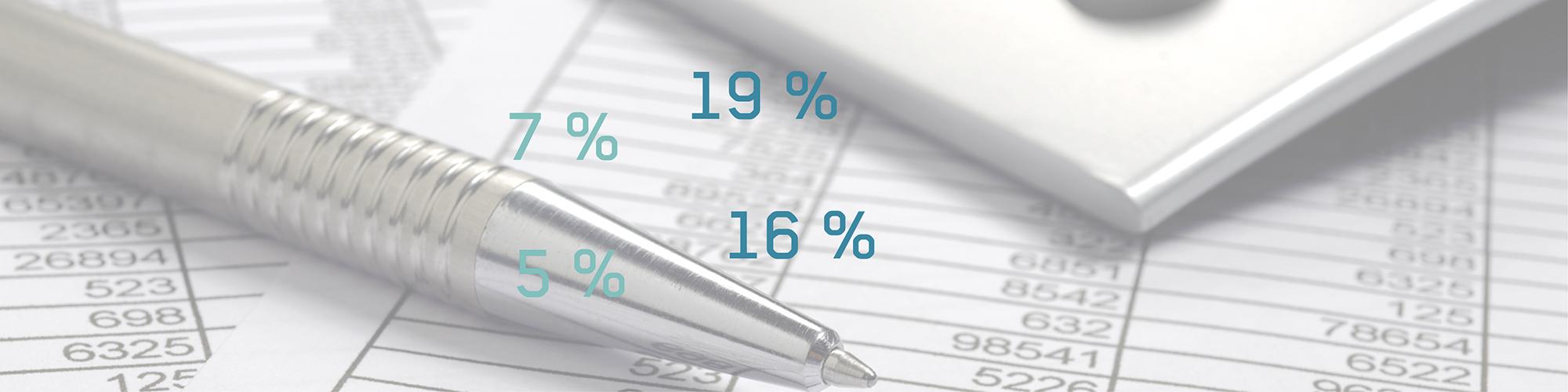 Slider-Bild zum Thema Umsatzsteuersenkung