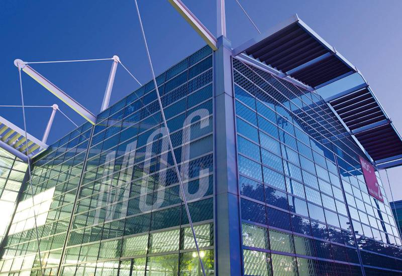 Aussenaufnahme des MOC Veranstaltungscenters München