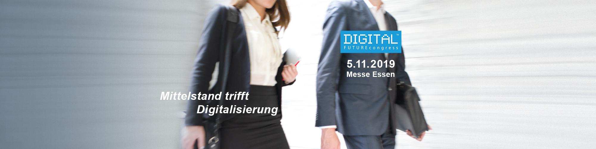 Slidermotiv Digital Future Congress Essen 2019